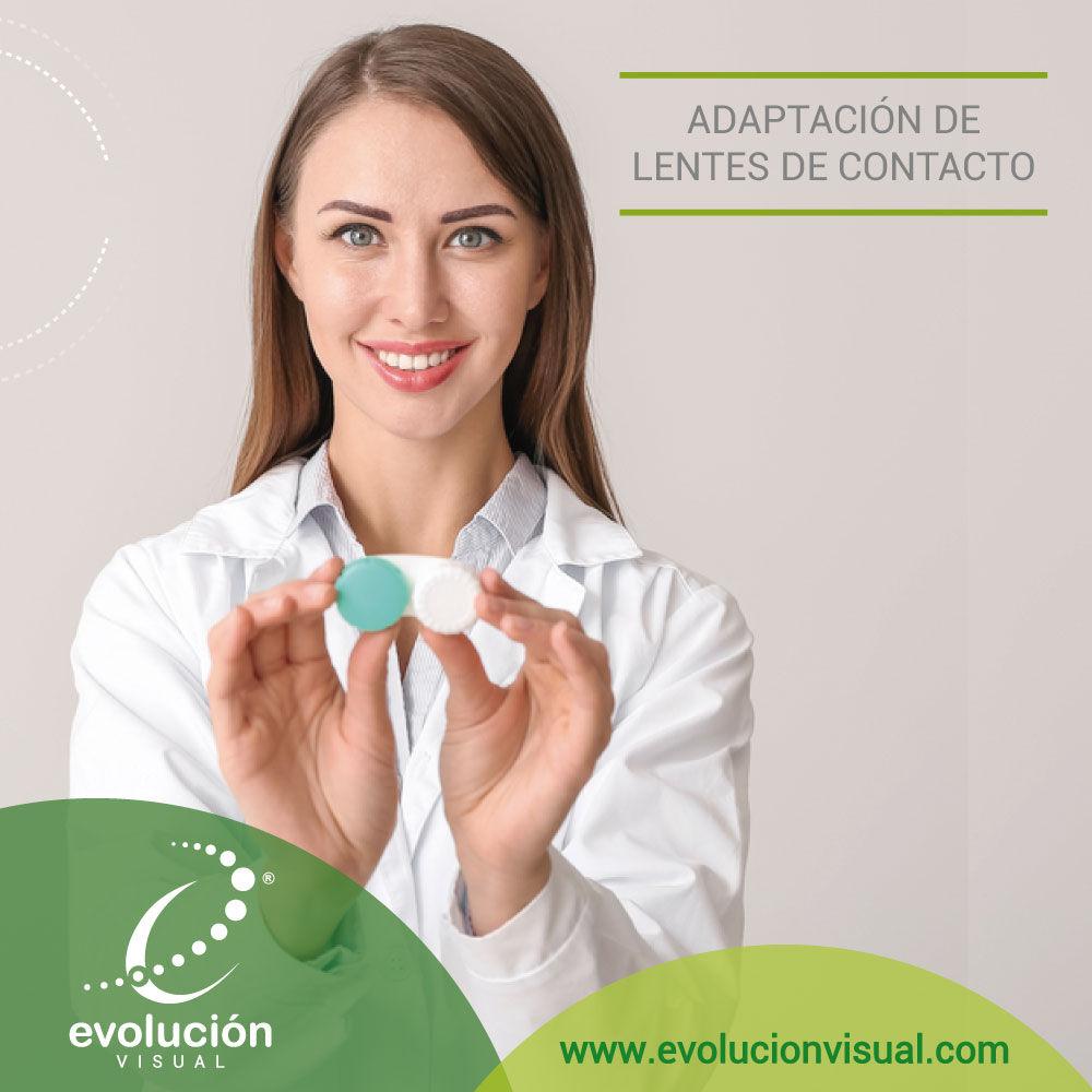 ¿Qué es la adaptación de lentes de contacto?
