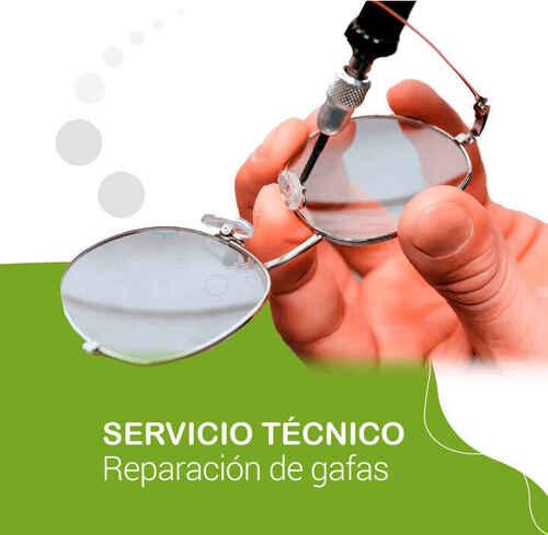 Reparación de gafas